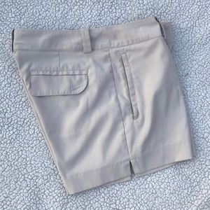 Nike Golf Dri-Fit Women's Khaki Shorts, Size 10